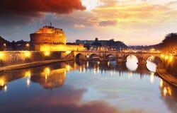 Rome - Castel saint Angelo, Italy Royalty Free Stock Photos