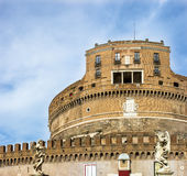 Rome, Castel Sant Angello Stock Photography