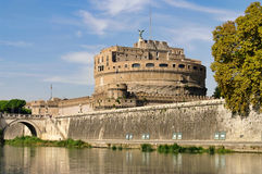 Rome Castel Sant Angelo Stock Photo