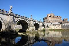 Rome - Castel Sant Angelo Stock Photo