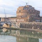 Rome Castel Sant Angelo 02 Royaltyfria Bilder