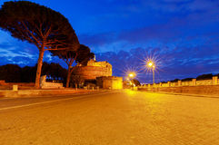 Rome. Castel Sant`Angelo. Royalty Free Stock Photography