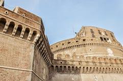 Rome Castel Sant Angelo close up Stock Photo