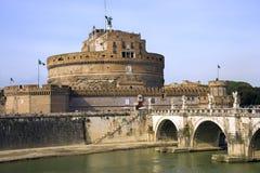 Rome Castel Sant'angelo  mausoleum prison museum Stock Images