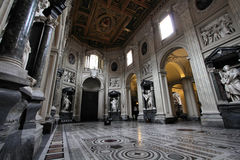 Rome cathedral Stock Image