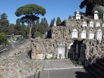 Rome The Cemetery of Verano royalty free stock images