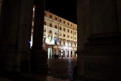 Rome. Chigi palace  government's seat Stock Image