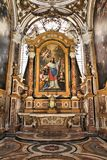 Rome church interior Royalty Free Stock Images