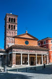 Rome, church San Giorgio in Velabro Royalty Free Stock Photos