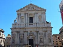 Rome - Church of Sant`Andrea della Valle stock photos