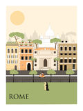 Rome city.  Stock Photography