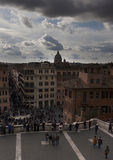 Rome. City landscape. places of Interest. Attractions. View of Rome historic center, Italy Stock Image