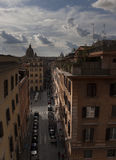 Rome. City landscape. places of Interest. Attractions. View of Rome historic center, Italy Royalty Free Stock Image