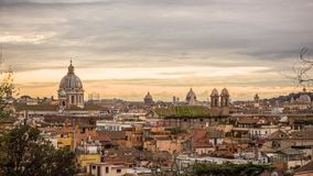 Rome city landscape. stock photography
