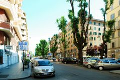 Rome city life. View of Rome city on June 1, 2014 Stock Photo