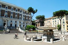 Rome city life. View of Rome city on June 1, 2014 Royalty Free Stock Image