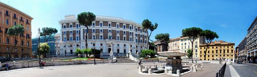 Rome city life. View of Rome city on June 1, 2014 Stock Photography