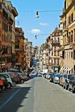 Rome city life. View of Rome city on June 1, 2014 Royalty Free Stock Photo
