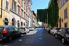 Rome city life. View of Rome city on June 1, 2014 Royalty Free Stock Photos