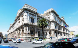 Rome city Palace of Justice architecture view on May 30, 2014 Royalty Free Stock Images