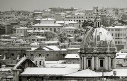 Rome city panorama Royalty Free Stock Photos