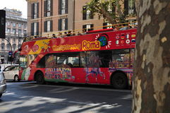 Rome City Sightseeing bus Royalty Free Stock Photos