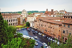 Rome city skyline Italy Royalty Free Stock Images