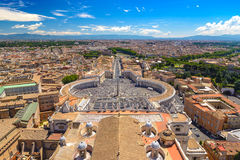 Rome city skyline, Italy Stock Photo
