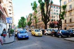 Rome city street life on May 30, 2014 Stock Photos