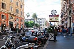 Rome city street life on May 30, 2014 Royalty Free Stock Photo