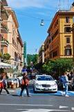Rome city street life on May 30, 2014 Royalty Free Stock Photos