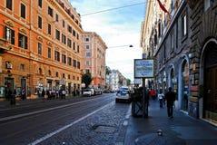 Rome city street life on May 31, 2014. ROME, ITALY - MAY 31: Rome city street life on May 31, 2014, Rome, Italy Royalty Free Stock Photo