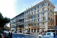 Rome city street life on May 31, 2014 Royalty Free Stock Images