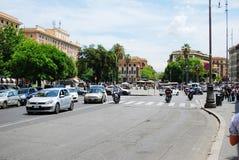 Rome city street life on May 30, 2014. ROME, ITALY - MAY 30: Rome city street life on May 30, 2014, Rome, Italy Royalty Free Stock Image