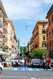 Rome city street life on May 30, 2014. ROME, ITALY - MAY 30: Rome city street life on May 30, 2014, Rome, Italy Royalty Free Stock Photos