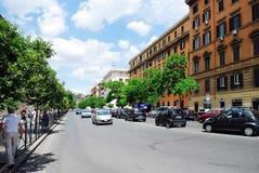 Rome city street life on May 30, 2014. ROME, ITALY - MAY 30: Rome city street life on May 30, 2014, Rome, Italy Royalty Free Stock Photography