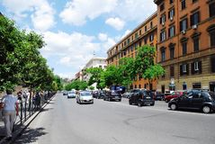 Rome city street life on May 30, 2014 Royalty Free Stock Photography