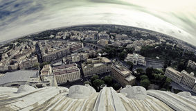 Rome Cityscape Stock Photo