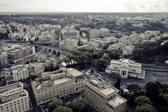 Rome Cityscape Royalty Free Stock Photography