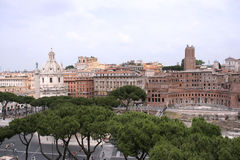 Rome cityscape. One of the most beautiful cities in the world - Rome in Italy. Famous cityscape Stock Photography