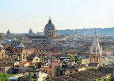 Rome cityscape Royalty Free Stock Images
