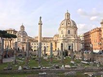 Rome cityscape Royalty Free Stock Image
