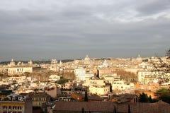 Rome cityscape. From Gianicolo hill Stock Photo