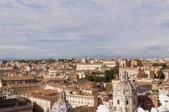 Rome cityscape, Italien Fotografering för Bildbyråer