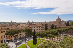 Rome cityscape, Italy Royalty Free Stock Images