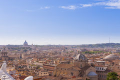 Rome cityscape, Italy Stock Images