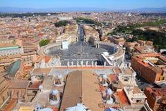 Rome cityscape Stock Image