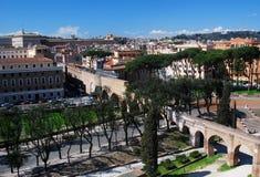 Rome cityscape (Italy/Italia) Stock Photography