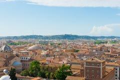 Rome cityscape, Italy Royalty Free Stock Photo