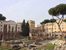 Rome cityscape Royalty Free Stock Photos
